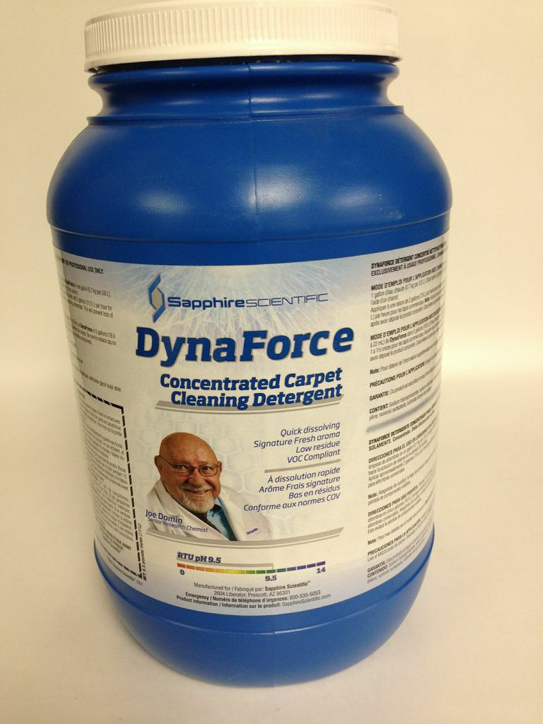 DynaForce Concentrated Carpet Cleaning