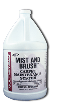 Mist & Brush Carpet Maintenance System 5L