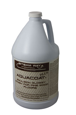 Aquacoat Emulsion Glossy Finish For Fine Wood Floors 1G